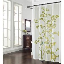 Shower Curtains With Birds Overstock Com Wildwood Print And Embroidered Birds Shower
