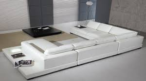 White Leather Sleeper Sofa Living Rooms With White Leather Sofas Modern White Leather Sofa