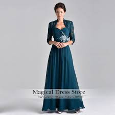 modern mother of the bride dresses tea length with sleeves high quality chiffon wedding suits mother buy cheap chiffon