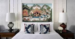 thai home design news anantara siam bangkok hotel unveils thai inspired guest rooms