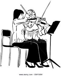 plays the violin cut out stock images u0026 pictures alamy