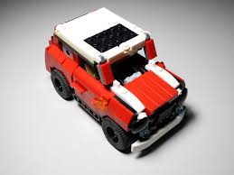 custom lego mini cooper moc alternates page 3 building lego brickpicker