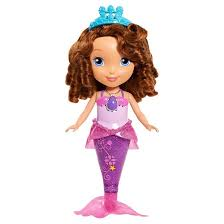 sofia splashtime fun mermaid doll target
