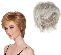 former qvc host with short blonde hair hairdo short tapered crop wig page 1 qvc com