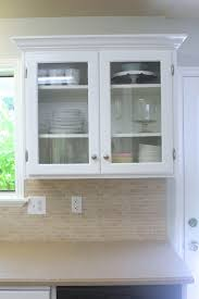 Big Kitchen Makeover On A Little Budget Doors Glass And Kitchens - Glass panels for kitchen cabinets