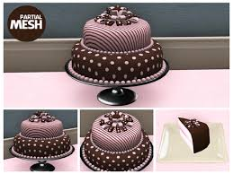 brown cake second marketplace birthday polka dots pink brown