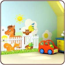 stickers animaux chambre bébé stickers pour chambre d enfant stickers animaux de la ferme un kit