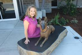 belgian malinois in movies police dog statue dedicated in washougal the columbian