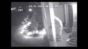 easter bunny caught on surveillance camera youtube