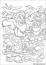 26 coloring pages lion king images coloring