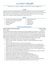 Sample Resume For Experienced Embedded Engineer Sample Embedded Software Engineer Cover Letter Wimax Engineer
