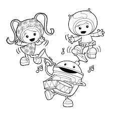 team umizoomi coloring pages printable cartoon coloring pages