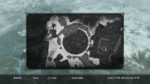 Skyrim World Map by Image Bromjunaar Sanctuary Local Map Jpg Elder Scrolls