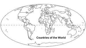 countries coloring netart