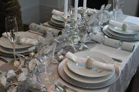 table setting pictures home design lovely silver christmas table settings dinner