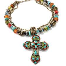 beads cross necklace images Mayan cross necklace n124 sweet romance jpg