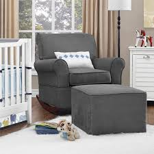 chairs gorgeous impressive gray gliding rocker and cheap rocking