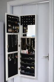 rangement armoire chambre miroir avec rangement bijoux avec meuble miroir avec rangement pour