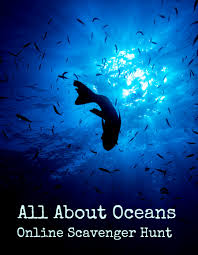 online activity all about oceans scavenger hunt weareteachers