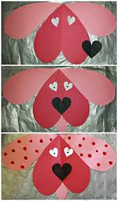 cute dog valentines day craft for kids puppy crafts diy art