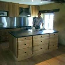 meuble de cuisine en bois pas cher meuble bas cuisine bois massif la placard en pin socialfuzz me