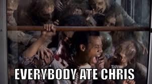 Walking Dead Birthday Meme - meme everybody ate chris the walking dead 5x14