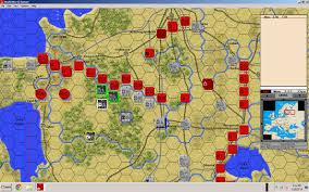 Map Of World War 2 Europe by Real And Simulated Wars World War Ii Europe New Game From