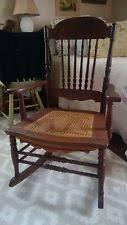 Cane Rocking Chair Antique Rocking Chair Ebay
