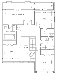 how to draw floor plans for a house digital smart draw floor plan with smartdraw software housebeauty