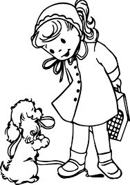 with puppy printable coloring page wecoloringpage