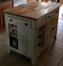 broyhill kitchen island broyhill attic heirlooms butcher block kitchen island in white