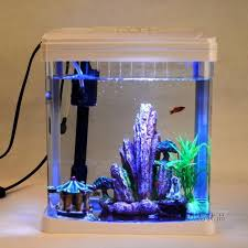 Fish Tank Desk mini desk aquarium fish tank tropical fish aquarium goldfish bowl