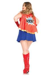 plus size comic book costume