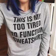 this is my sweater this is my tired to function sweatshirt casual pullover