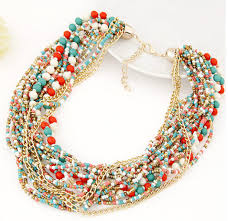 multi layer beaded necklace images Hot seller fashion hot new arrival fashion bohemian style jpg
