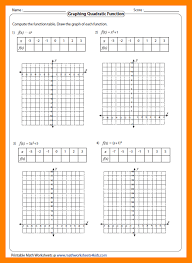 10 linear function worksheet service letters