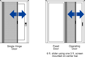 Screen For Patio Door Retractable Door Screen Screenex