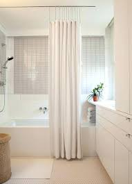 small bathroom shower curtain ideas houzz shower curtains ceiling mount curtain track with shower from