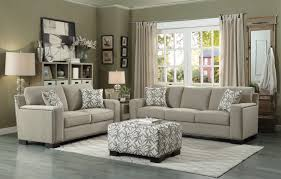 Chenille Sofa And Loveseat Homelegance Gowan Sofa Set Chenille Beige 8477nf Sofa Set
