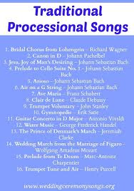songs played at weddings processional songs wedding ceremony songs