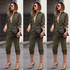 casual jumpsuits s linen casual jumpsuits rompers ebay