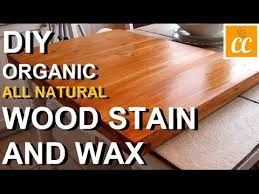 diy your own all wood finish stain wax