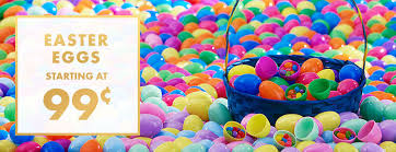 cheap easter eggs plastic easter eggs large easter eggs party city