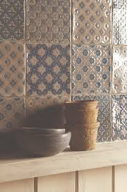 patterned tiles combined to make a beautiful patchwork featuring