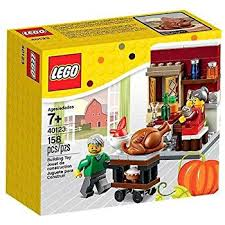 thanksgiving legos lego seasonal thanksgiving feast 40123 toys