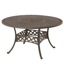 hanamint berkshire round dining table all things barbecue