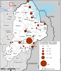 North East Map Northeast Nigeria Maps And Mapping Data Famine Early Warning