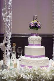 wedding cake lavender sera cake lavender and white accents sera denver