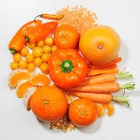 eat orange red or yellow food to prevent breast cancer