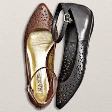 I Love Comfort Shoes At Sears Bcbg Paris Women U0027s U0027zayna U0027 Cutout Flat With Ankle Strap Sears